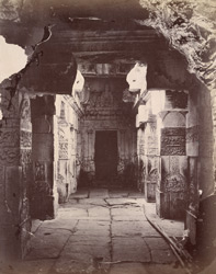 Interior of Virupaksha Temple, Pattadakal
